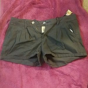 Charcoal shorts by Dollhouse NWT